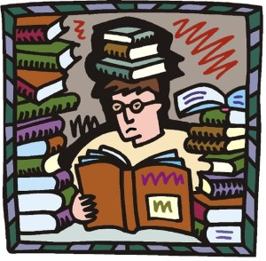 kartun-pria-membaca-buku